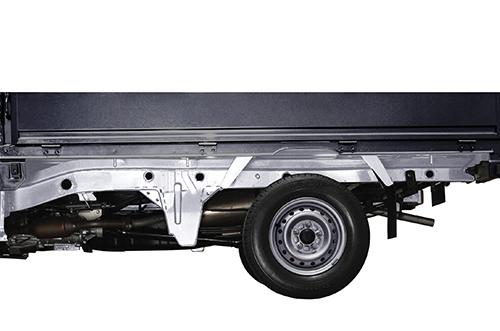 Harga dan Spesifikasi Daihatsu Granmax PU Pekanbaru - Chassis kuat