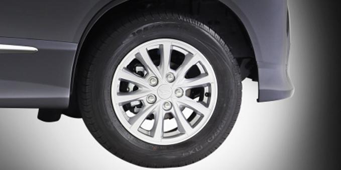 Harga dan Spesifikasi Daihatsu Luxio Pekanbaru - New Alloy Wheel Design