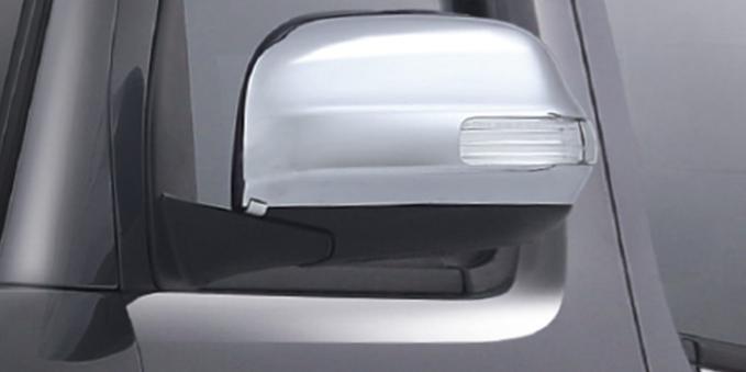 Harga dan Spesifikasi Daihatsu Luxio Pekanbaru - New Chrome Outer Mirror