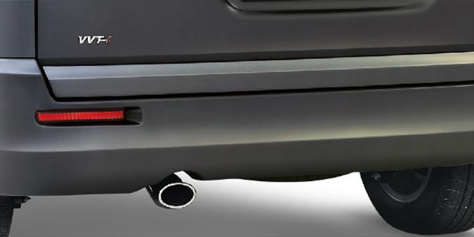 Harga dan Spesifikasi Daihatsu Luxio Pekanbaru - New Rear Bumper Design