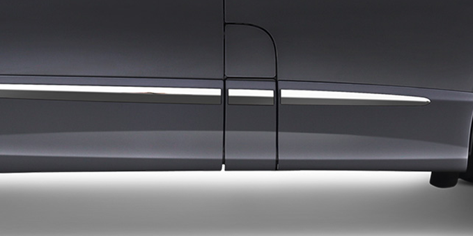 Harga dan Spesifikasi Daihatsu Luxio Pekanbaru - New Side Body Moulding