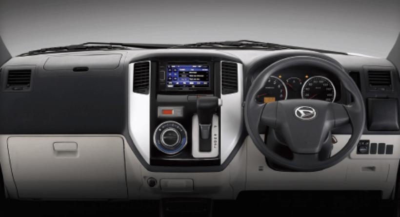 Harga dan Spesifikasi Daihatsu Luxio Pekanbaru - interior