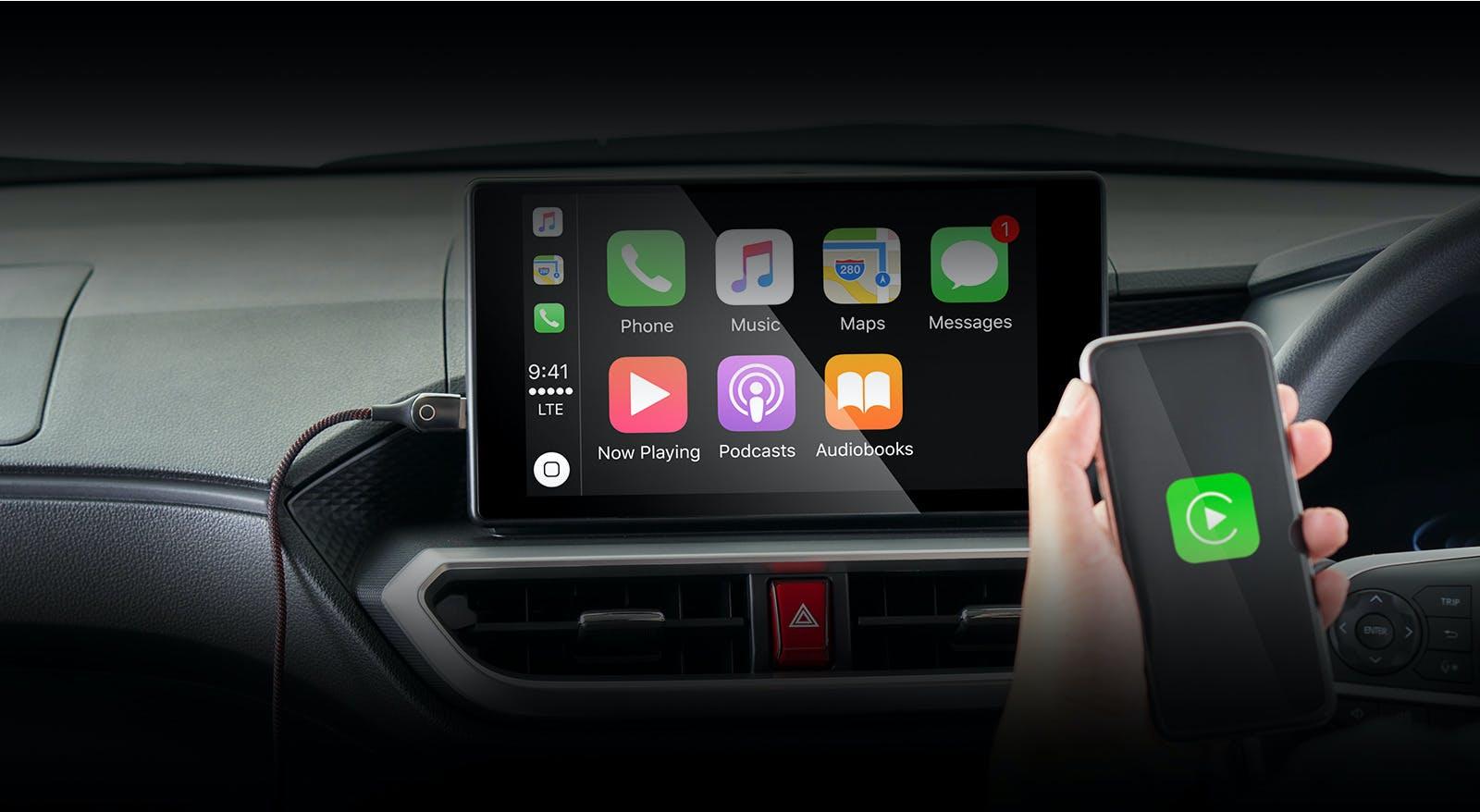 "Harga dan Spesifikasi Daihatsu Rocky Pekanbaru - 9"" DISPLAY AUDIO SUPPORT SMARTPHONE CONNECTION"