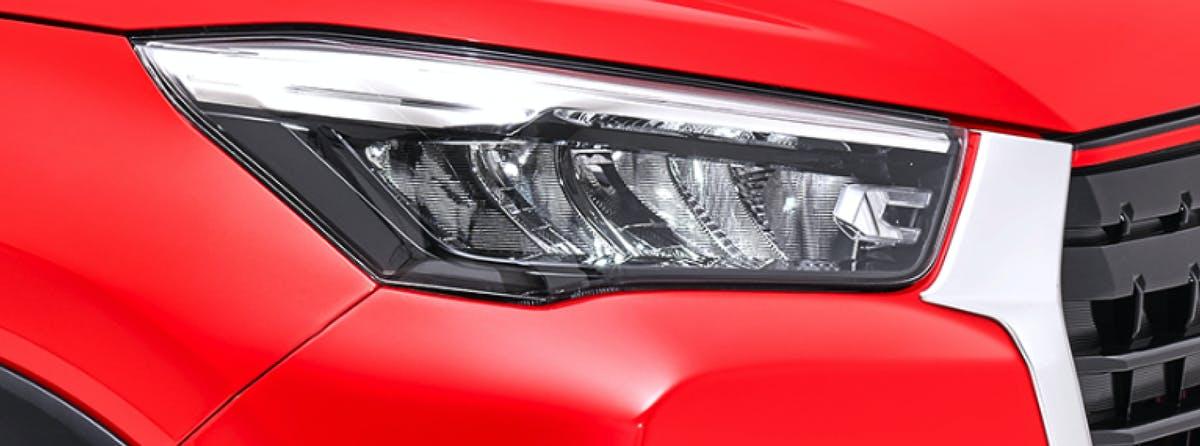 Harga dan Spesifikasi Daihatsu Rocky Pekanbaru - New LED Headlamp