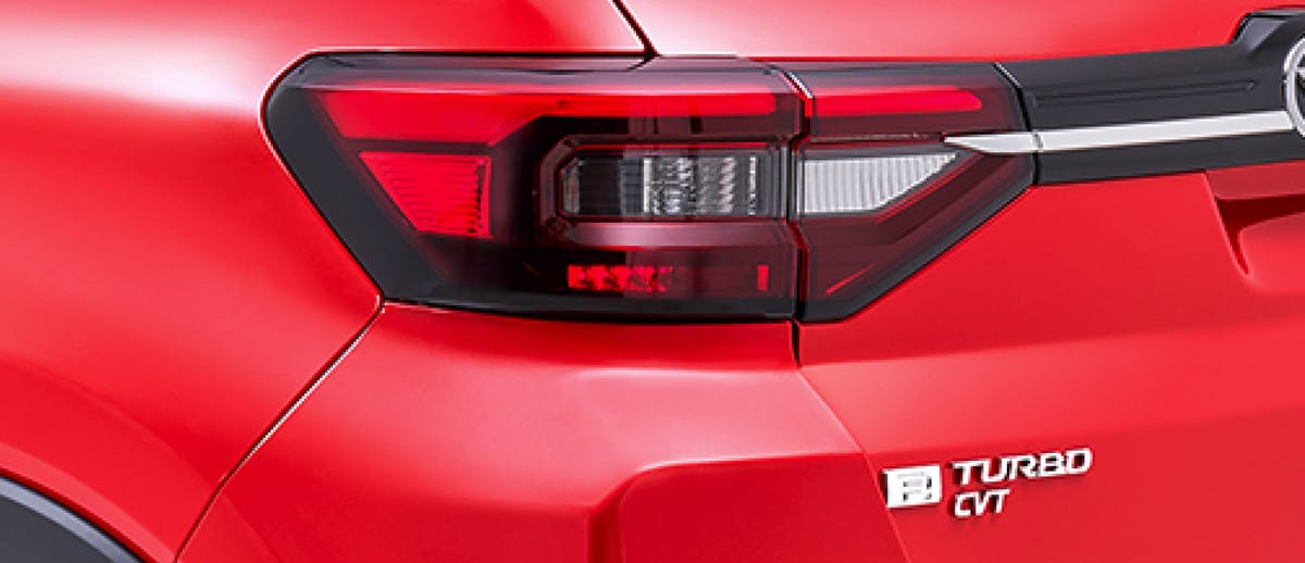 Harga dan Spesifikasi Daihatsu Rocky Pekanbaru - New LED Rear Combi Lamp