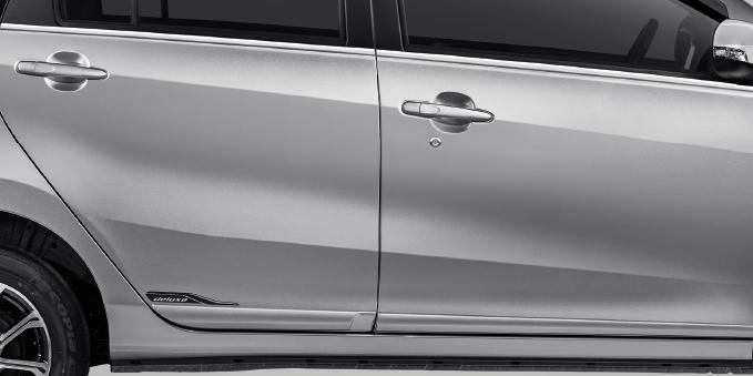 Harga dan Spesifikasi Daihatsu Sigra Pekanbaru - BODY MOLDING