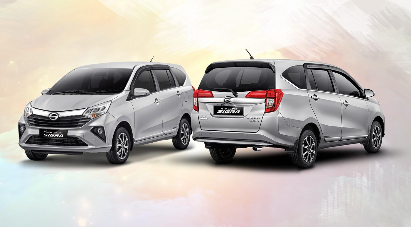 Harga dan Spesifikasi Daihatsu Sigra Pekanbaru - Eksterior