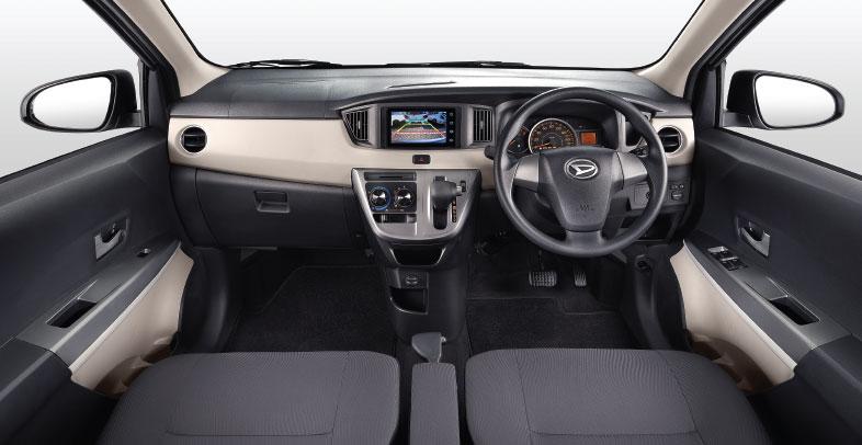 Harga dan Spesifikasi Daihatsu Sigra Pekanbaru - Interior