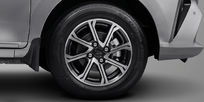 Harga dan Spesifikasi Daihatsu Sigra Pekanbaru - NEW ALLOY WHEEL