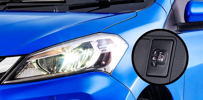 Harga dan Spesifikasi Daihatsu Sirion Pekanbaru - HEADLAMP LEVELING ADJUSTER