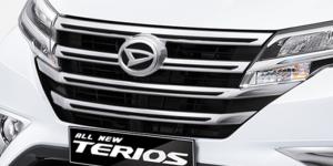 Harga dan Spesifikasi Daihatsu Terios Pekanbaru - NEW BLACK FRONT GRILLE