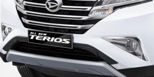 Harga dan Spesifikasi Daihatsu Terios Pekanbaru - NEW FRONT BUMPER