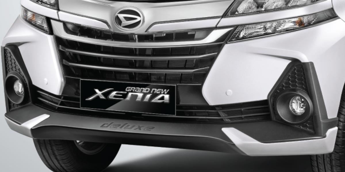 Harga dan Spesifikasi Daihatsu Xenia Pekanbaru - NEW FRONT GRILLE