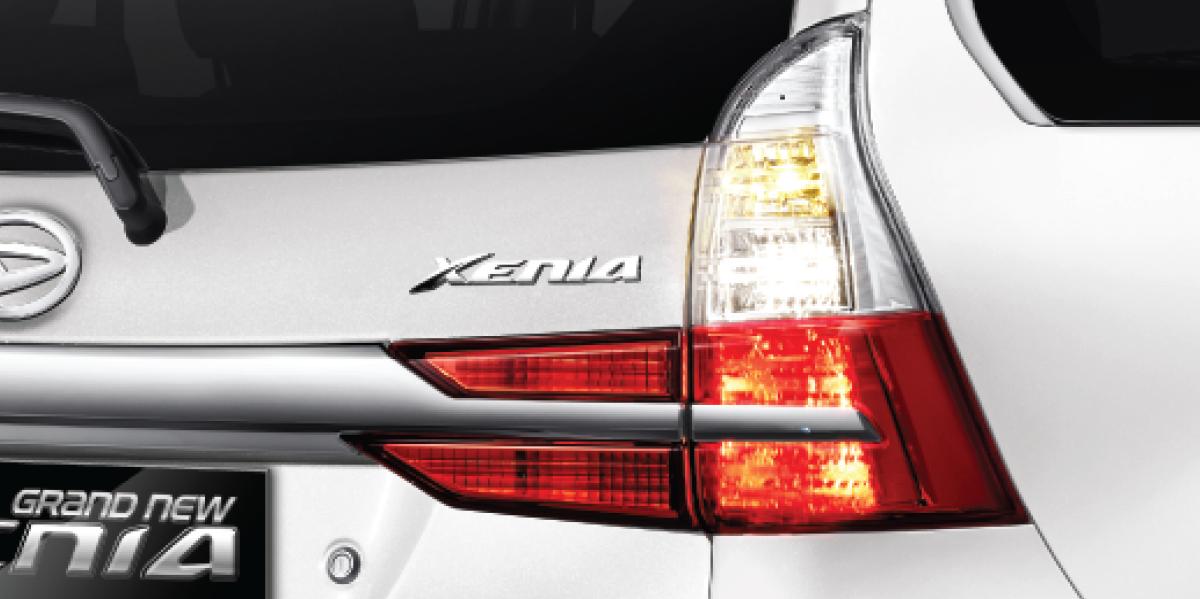Harga dan Spesifikasi Daihatsu Xenia Pekanbaru - NEW REAR COMBINATION LAMP
