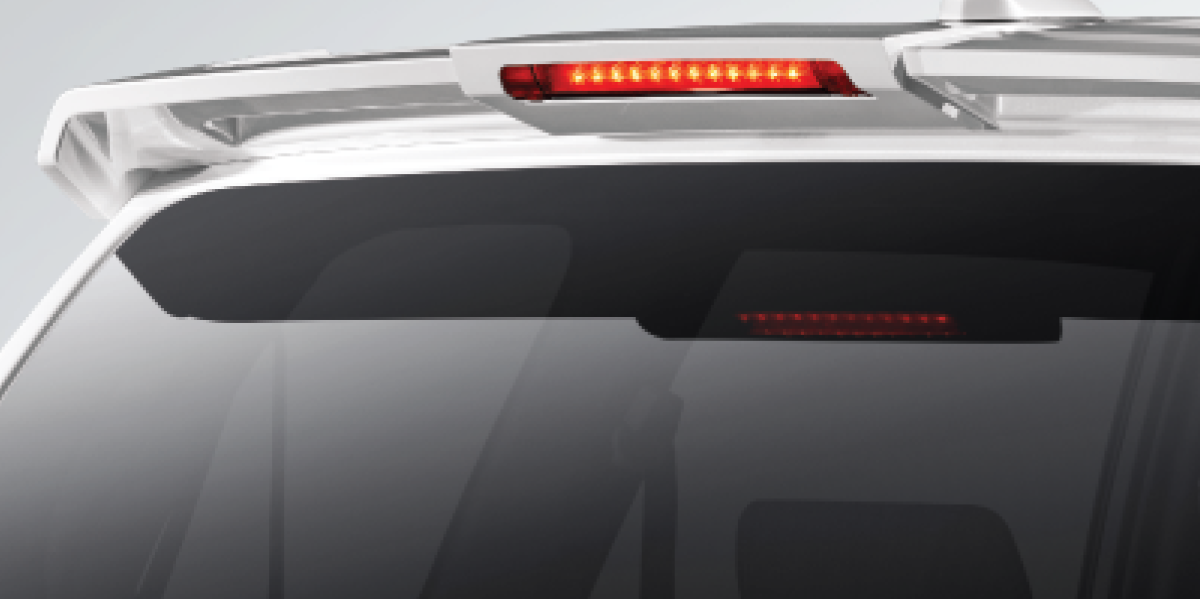 Harga dan Spesifikasi Daihatsu Xenia Pekanbaru - NEW REAR SPOILER WITH HMSL