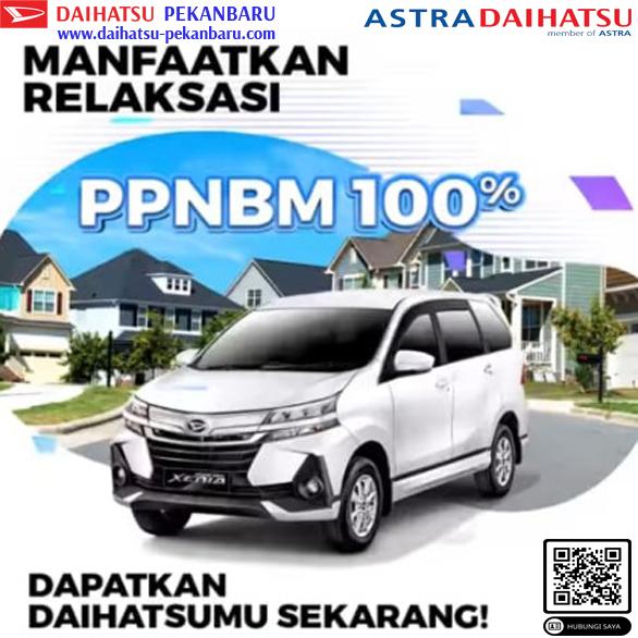 Daftar Harga Ppnbm 100% Daihatsu Pekanbaru 2021- Xenia