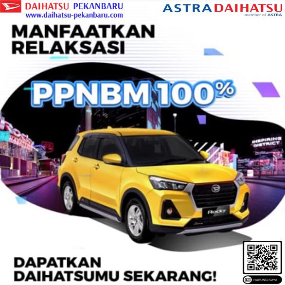 Daftar Harga Ppnbm 100% Daihatsu Pekanbaru - Rocky