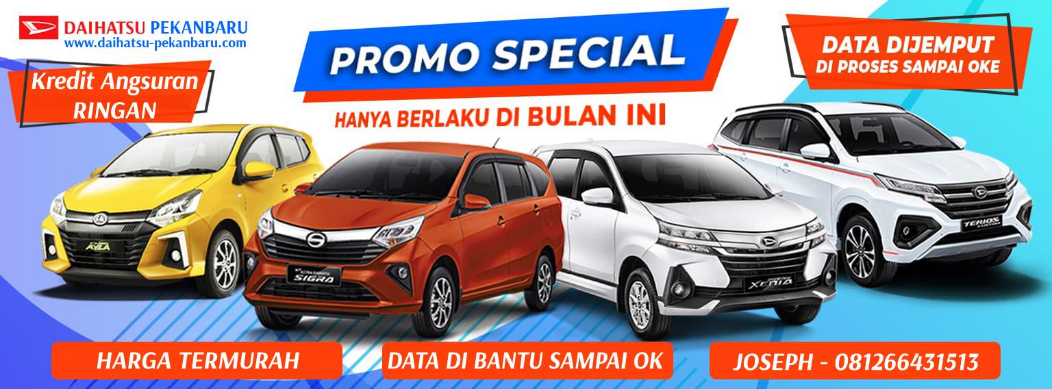 Promo Daihatsu Pekanbaru Spesial September 2021